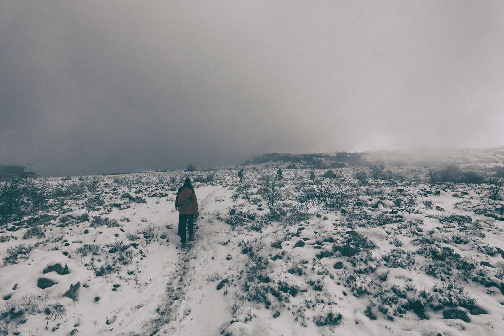 Plateau de Cavillore en hiver